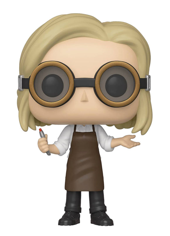 POP TV DOCTOR WHO 13TH DOCTOR W/GOOGLES VIN FIG (C: 1-1-2)