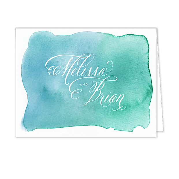Watercolor Wash - Inviting Treasures