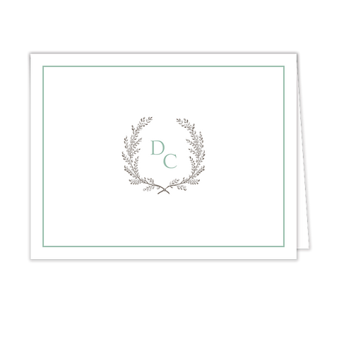 Provincial Garland Folded Note