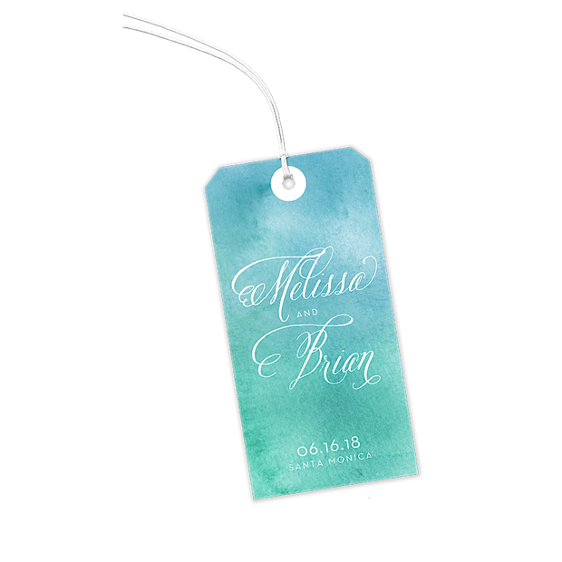 Watercolor Wash Gift Tags