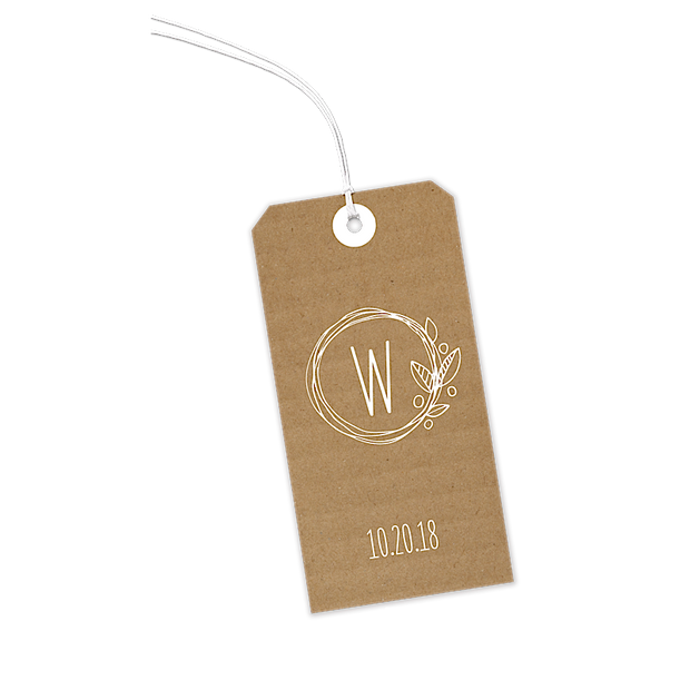 Natural Love Gift Tags