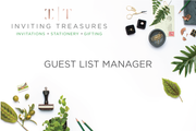 Guest List Manager - Inviting Treasures