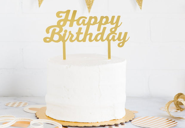 Acrylic cake topper, Happy Birthday ideas, Happy Birthday, cake topper, birthday cake decorations