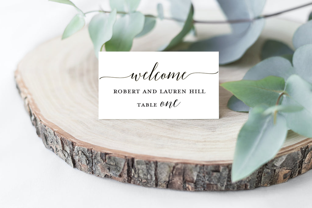 Welcome Place Cards