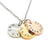 Coorabell Crafts 3 Disk Personalized Necklace