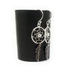 Coorabell Crafts Dainty Dream Catcher Earrings Sterling Silver