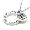 Daughter personalised necklace