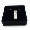 Elegant Personalise Bar Necklace