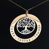Family Names Tree of Life Necklace