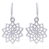 Coorabell Crafts Geometric Flower Drop Earrings