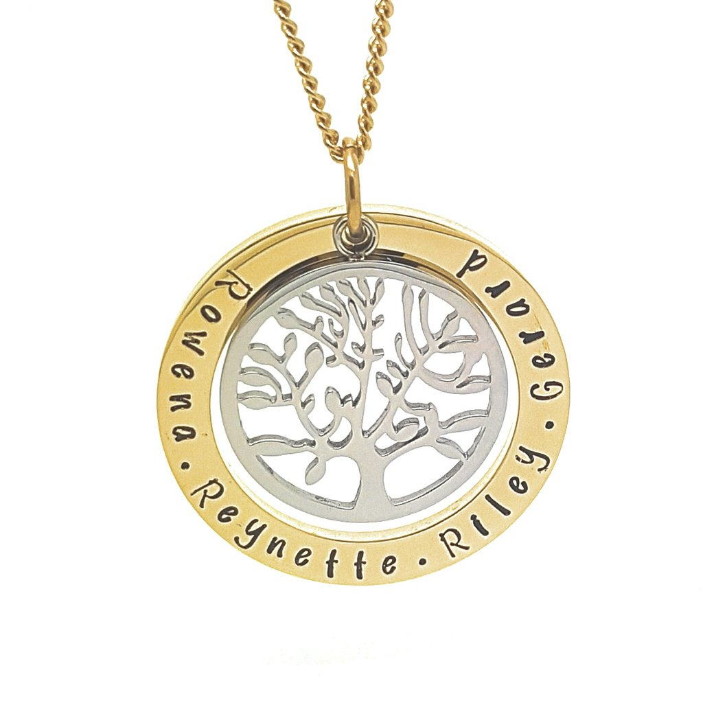 Coorabell Crafts Gold and Silver Mother Necklace
