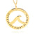 Coorabell Crafts Gold Ocean Lover pendant