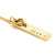 Coorabell Crafts Gold Rectangle Bar Name Necklace