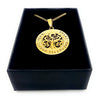 Gold Tree Personalised Pendant