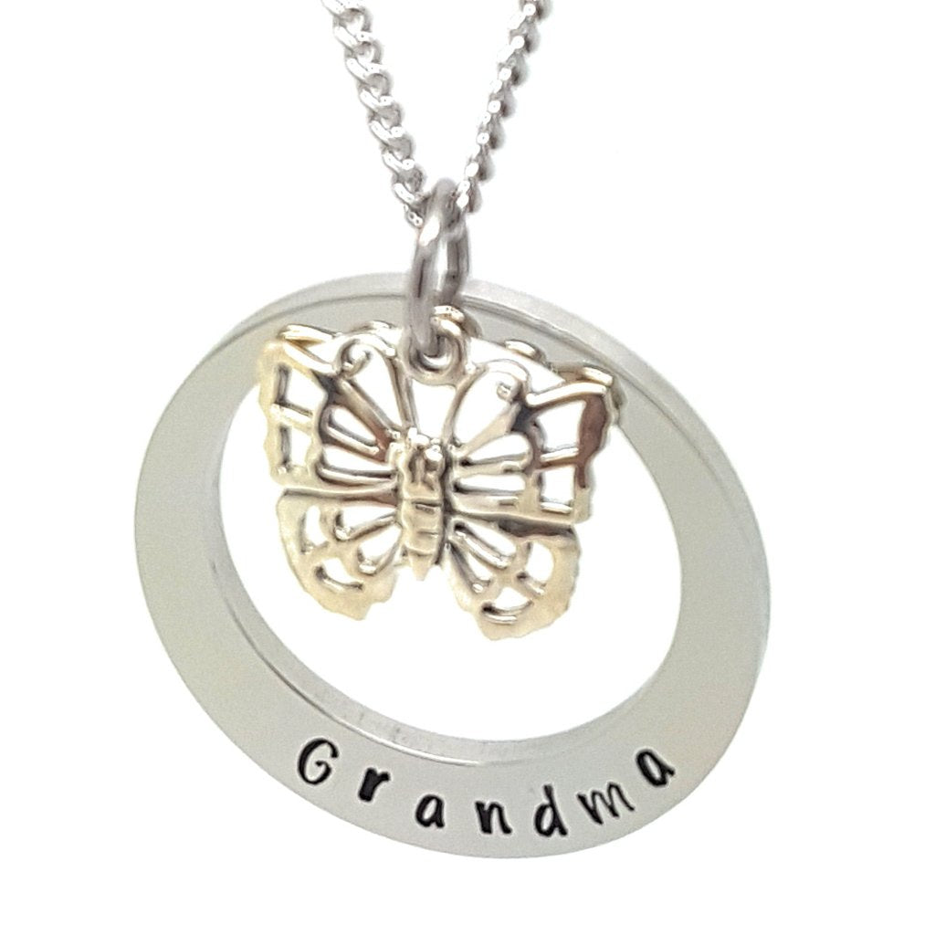 Coorabell Crafts Grandma Necklace Gift Personalised
