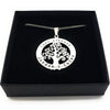 Large Personalised Tree Pendant