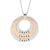 Coorabell Crafts Layered Circle Family Necklace