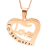 Love Heart Personalised Necklace