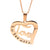 Coorabell Crafts Love Heart Personalised Necklace