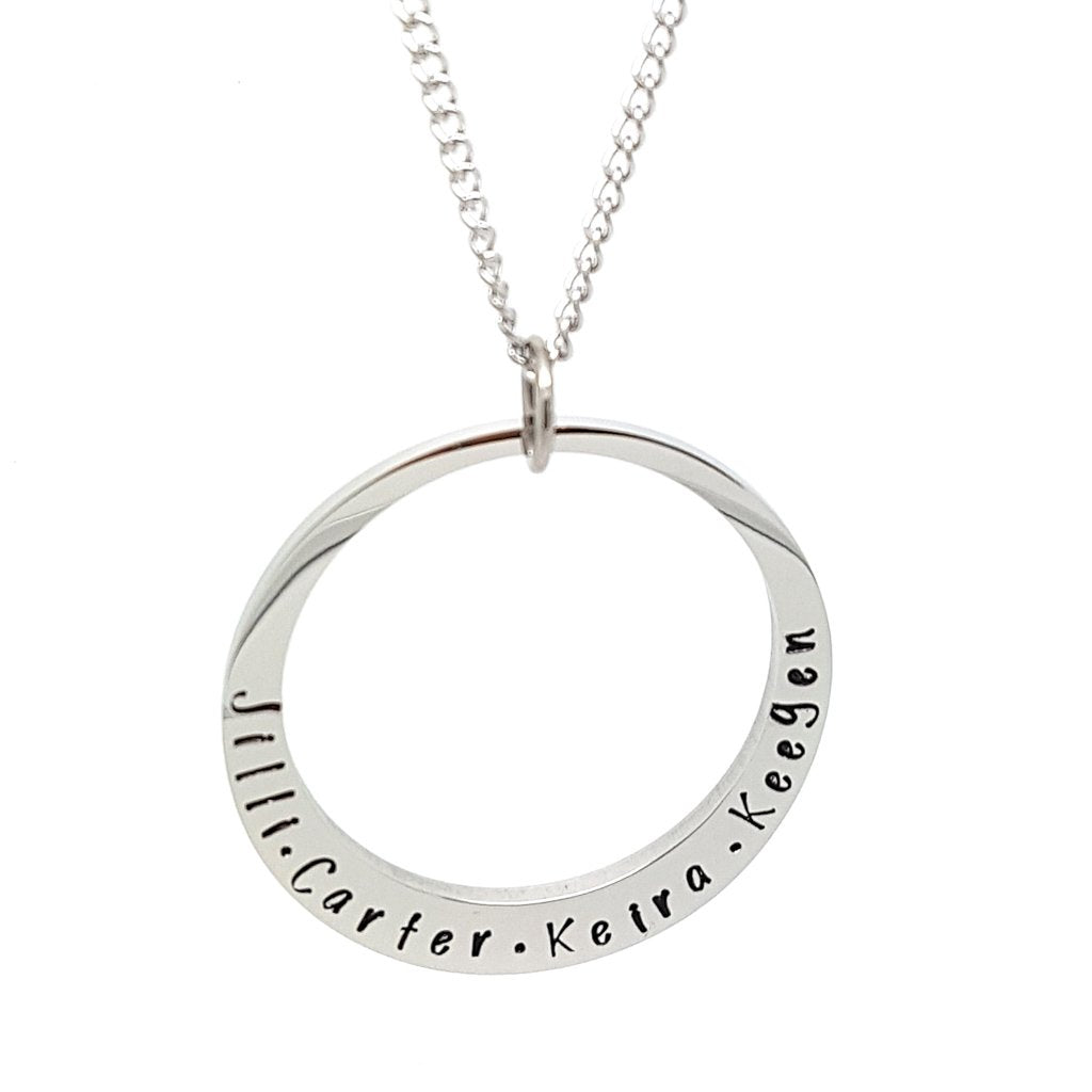Coorabell Crafts Minimalist Circle Personalised