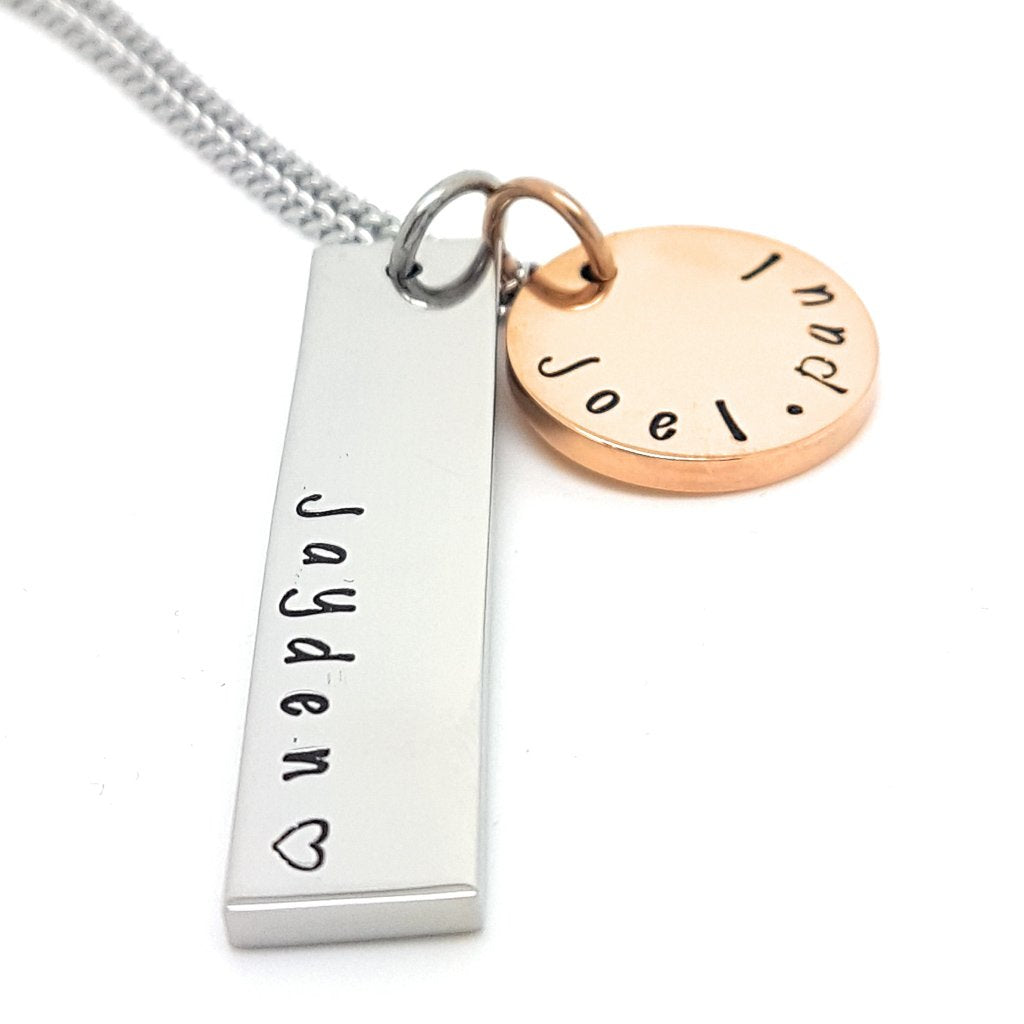 Coorabell Crafts New Mother Personalised Necklace