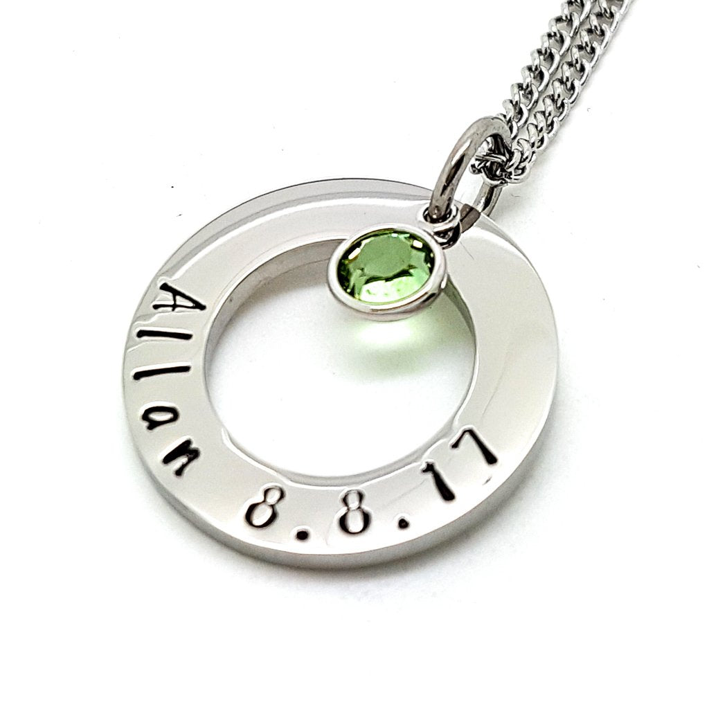 Coorabell Crafts Personalised Birthstone Necklace