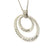 Coorabell Crafts Personalised Necklace Two Silver Circles