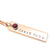 Coorabell Crafts Rose Gold Birthstone Bar Necklace