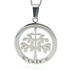 Silver Tree of Life Pendant Personalised