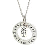 Tree Charm Personalised Necklace