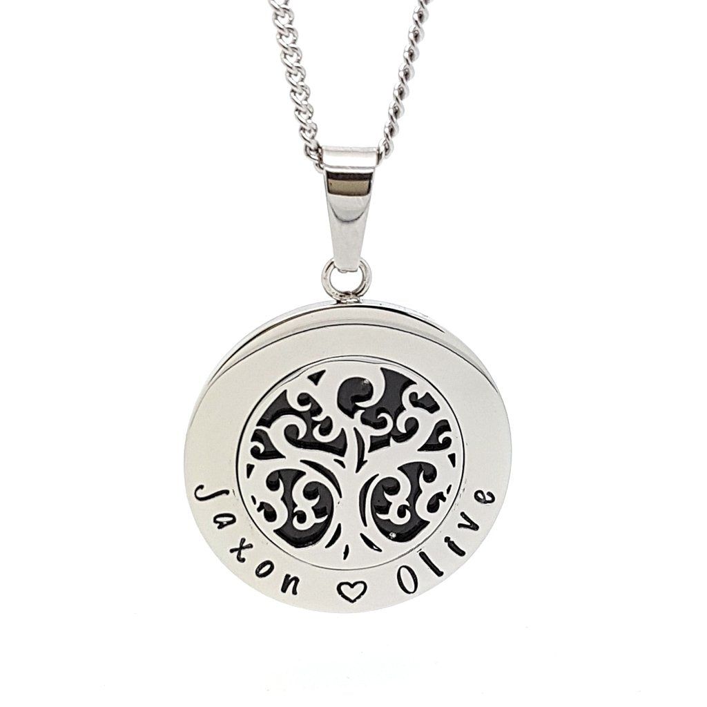 Coorabell Crafts Designs by Coorabell Crafts Tree of Life Silver Pendant