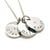 Coorabell Crafts Triple Disk Silver Family Names