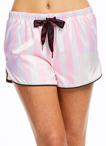 Satin PJ Set - Pink