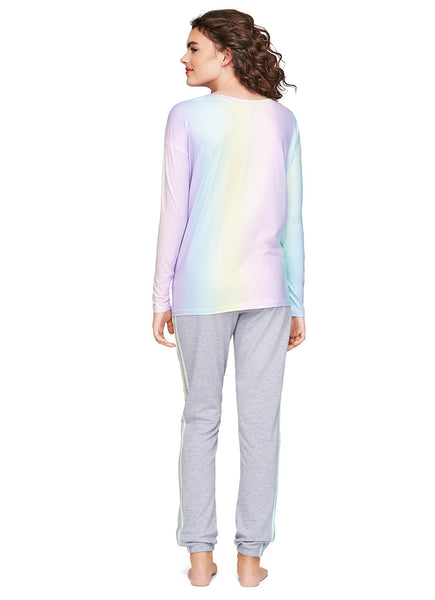 Soft Lounge Sweater | Cozy Rainbow Pullover