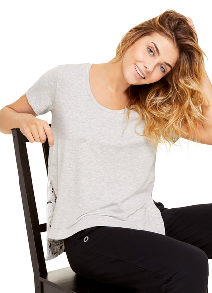 Must-Have Tee | Short Sleeve T-Shirt Casual Blouse / Top | Lounge & Sleepwear