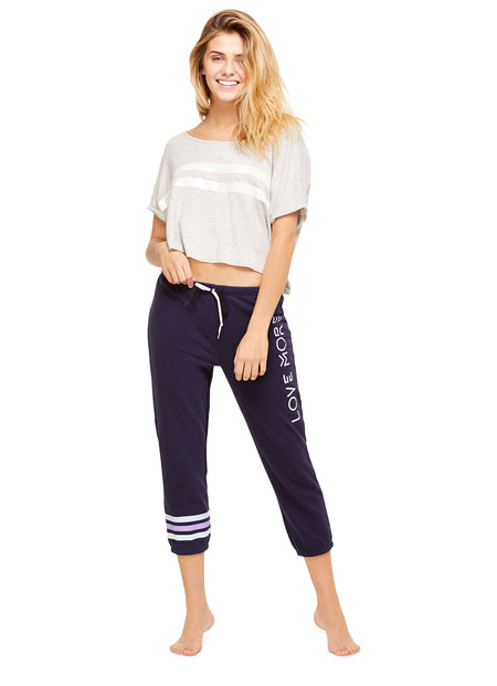 Crushed Velour 70s Short | Soft Casual Women Sleep Pants / Bottoms