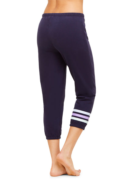 Cropped Jogger | Soft Casual Women Sleep Pants / Bottoms | Lounge & Sleepwear