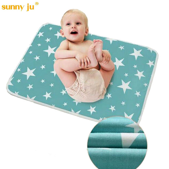 Baby Cartoon Reusable Matelas Infant Cover