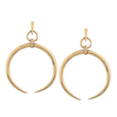 Outlet Appeal 1 Pair New Fashion Lady Women Thin Round Big Large Dangle Hoop Loop Earrings