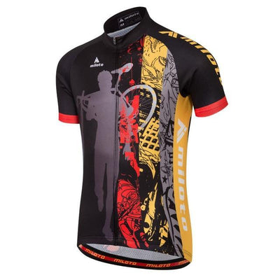 Outlet Appeal 10 / 4XL Short Sleeve Cycling Jersey Bike Racing Jersey Road Bike Mountain Bike MTB - 10 Colors