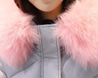 Outlet Appeal 2018 high quality fur collar women long winter coat female warm wadded jacket womens outerwear parka casaco feminino inverno