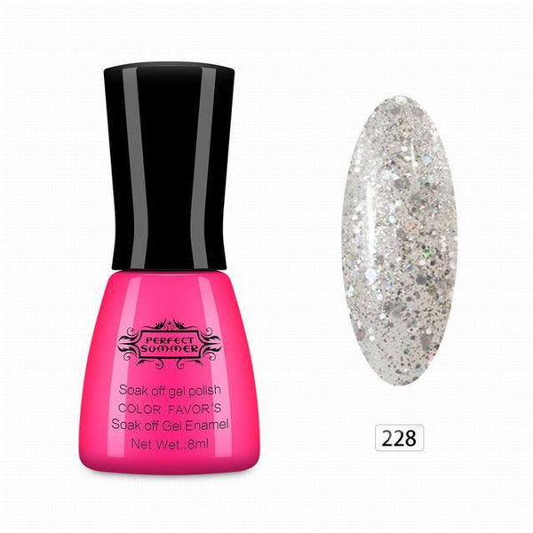Outlet Appeal 228 Gel Nail Polish UV Cured Long Lasting Up to 30 days Gel Lacquer Soak off