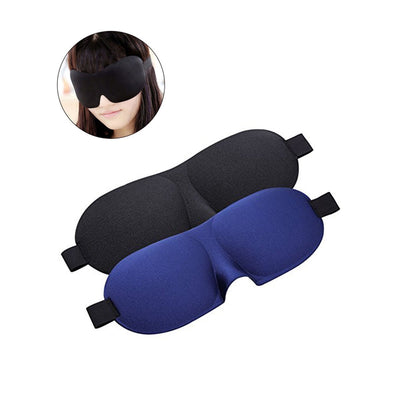 Outlet Appeal 2pcs Sleeping Mask Sleep Blindfold 3D Eye Mask for for Nap Travel Light Block Comfortable