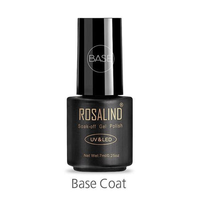 Outlet Appeal BASE ROSALIND UV Cured Nail Gel Soak Off Nail Art Single 7ml Bottle - 28 Colors (31 - 58) with Top and Base Coat Available