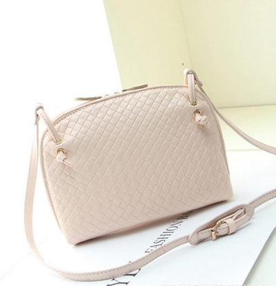 Outlet Appeal Beige Women Hobo Shoulder Bag Faux Leather Satchel Crossbody Tote women handbags