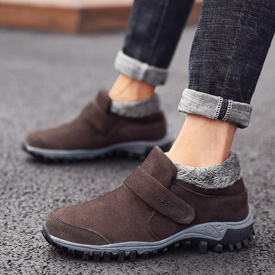 Men's Plush Lined Warm Winter Snow Boots