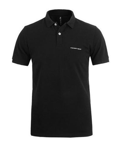Outlet Appeal Black / 4XL Pionner Camp Men Polo Shirt Men Business & Casual solid male polo shirt Short Sleeve breathable polo