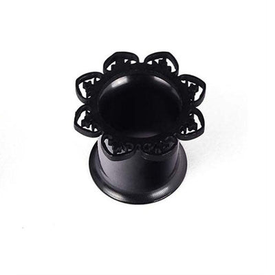 Outlet Appeal Black / 8mm 1 Pair New Black Brass Tunnel Ear Plug Only Ornate Copper Piercing Jewelry Ear A