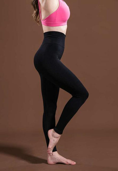 Outlet Appeal Black / L / China Women's High Waist Stretch Fitness Yoga Pants Leggings - 10 Colors