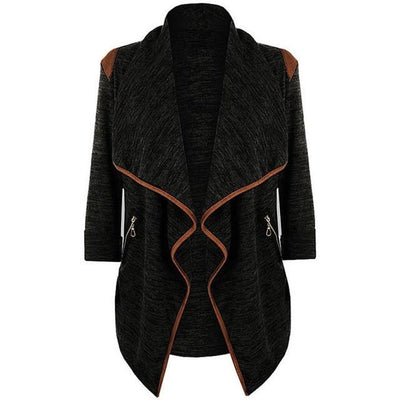 Outlet Appeal Black / M / China Winter Coat - Vintage Knitted Long Cardigan